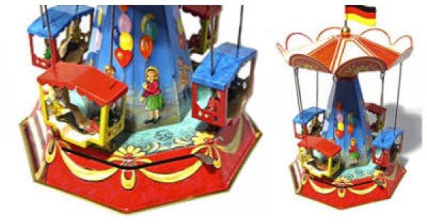 Carousels And Fair Rides Tin Toys