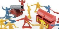 Plastic Figures Playsets