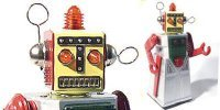 Classic Wind Up Robots