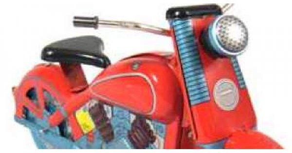 Motorcycles And Bikes Tin Toys