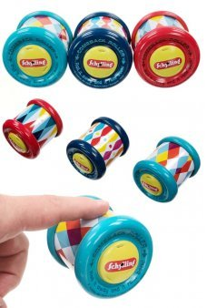 Magic Comeback Roller Tin Toy