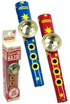 The Original Tin Kazoo Classic Humming Toy