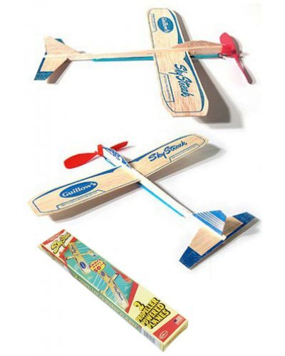 Sky Streak Wind Up Balsa Wood Plane