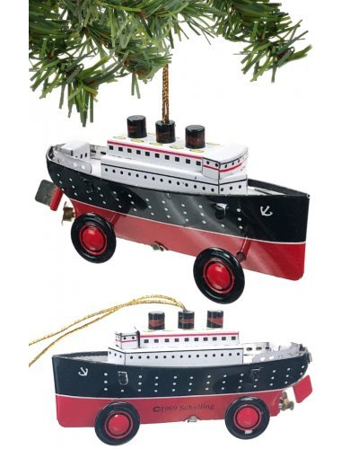 Titanic Ocean Liner Christmas Ornament Schylling