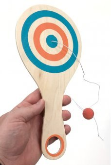 Paddle Ball Bounce Back Game