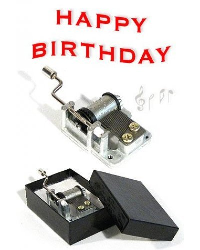 Happy Birthday Song Crank Music Box