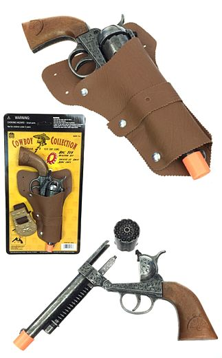 Big Tex Cowboy Collection Replica Cap Gun