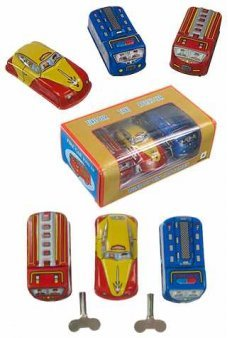 Classic Car Series Set of 3 Tin Toys