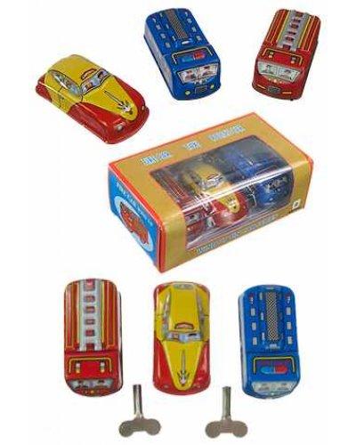 Classic Car Series Set of 3 Tin Toys