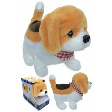Barney Beagle Soft Mechanical Puppy Plays