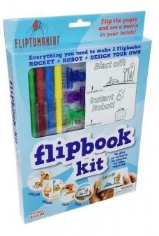 FlipBook Kit Robot and Rockets Set
