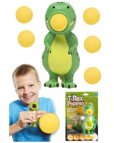 T-Rex Popper Soft Shooter Flying Fun