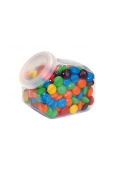 Mini Cookie Jar Clear Candy Box