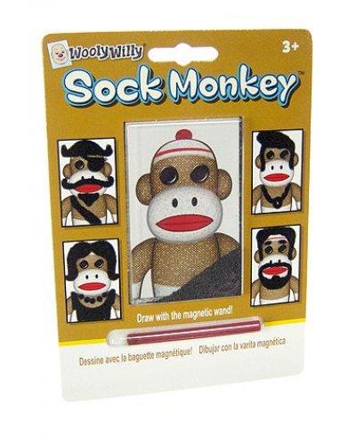 Sock Monkey Magic Magnet Hair