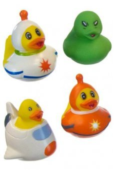 Outer Space Rubber Ducks Set of 4
