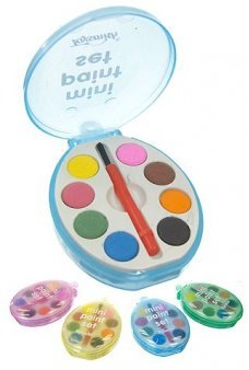 Mini Paint Set 8 Colors Portable Palate