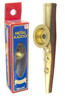 Metal Kazoo Gold and Red Hum Music