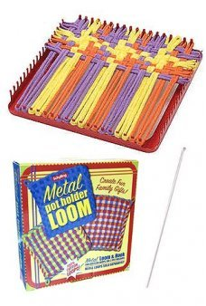Metal Pot Holder Loom Kraft Kit
