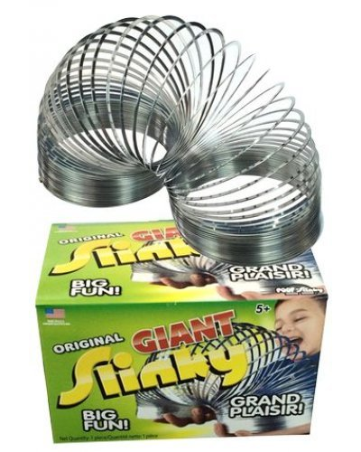 Giant Slinky the Original Huge Metal Spring Toy