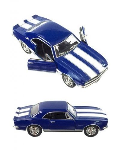 Chevy Camaro 1967 Z28 Blue Toy Car