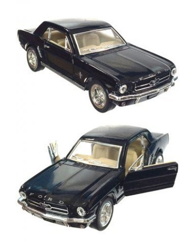 Ford Mustang 1964 Black Toy Car