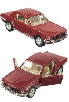 Ford Mustang 1964 Red Toy Car