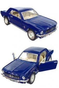 Ford Mustang 1964 Blue Toy Car