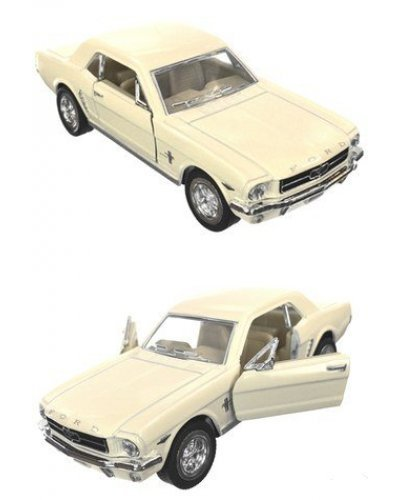 Ford Mustang 1964 White Toy Car
