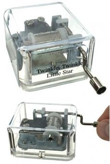 Twinkle Twinkle Little Star Windup Music Box