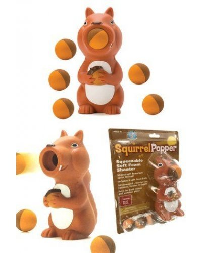 Squirrel Popper Soft Shooter Flying Fun