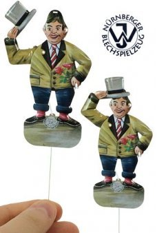 Tip Hat Romantic Tin Toy Germany