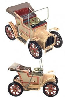 Austin Auto Tourer Tan Tin Toy 1906