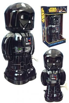 Star Wars Darth Vader Tin Wind Up Robot