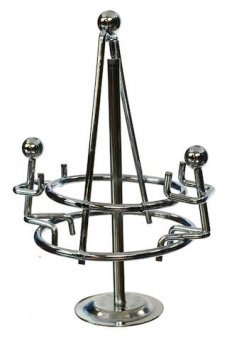 Spinning Playground Carousel Silver Mini
