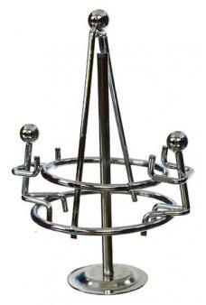 Spinning Playground Carousel Silver Mini