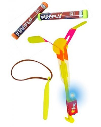 Firefly Hand-Launched Aircraft Toy Night LED