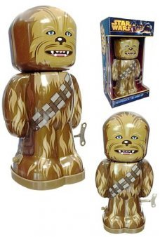 Chewbacca Tin Wind Up Star Wars