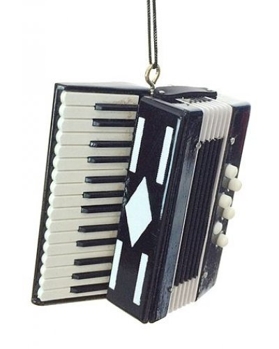 Accordion Musical Holiday Ornament