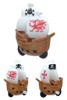 Pirate Ship Wind Up Galleon Action