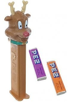 Reindeer PEZ Candy Dispenser