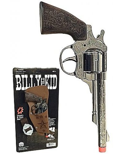 Billy the Kid Replica Revolver 8 Shot Ring Cap Gun