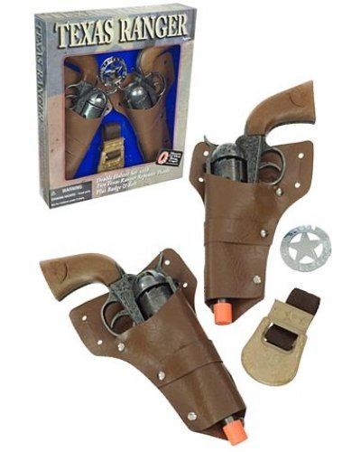Texas Ranger Double Cap Guns Set