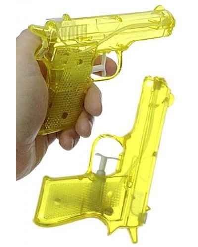 Water Gun Yellow TV Detective Pistol
