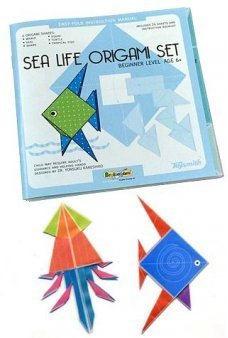 Sea Life Origami Set Folding Paper Kit