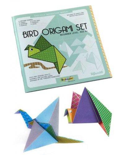 Bird Origami Set Folding Paper Kit