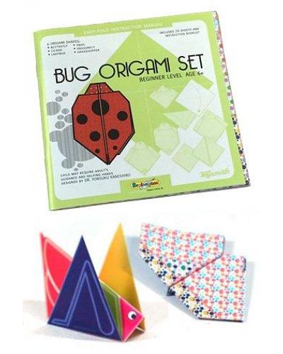 Bug Origami Set Folding Paper Kit