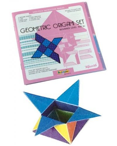 Geometric Origami Set Folding Paper Kit