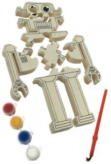 Robert the Robot Jigsaw Puzzle Wooden