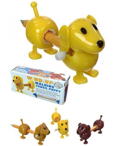 Pencil Puppy Wind Up Walking