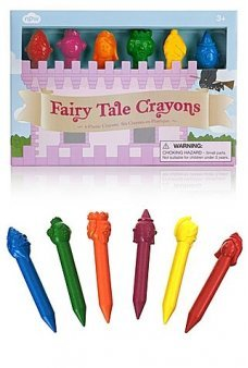 Fairy Tale Kingdom Crayons Set of 6
